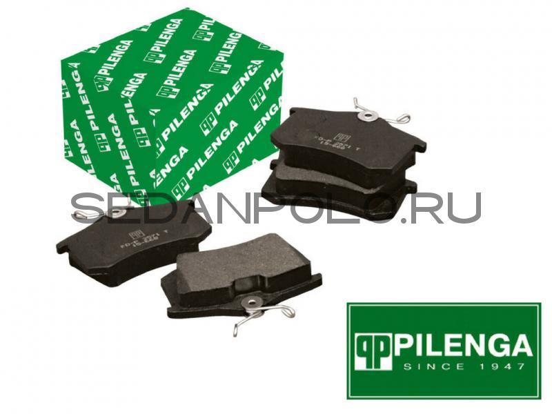 Колодки тормозные задние Pilenga для Volkswagen Polo Sedan