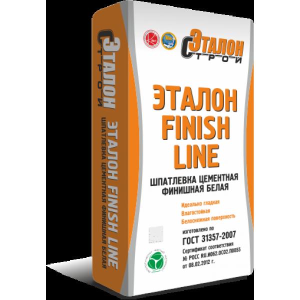 """Шпатлевка финишная цементная """"ЭТАЛОН FINISH LINE""""(20 кг) белая"""