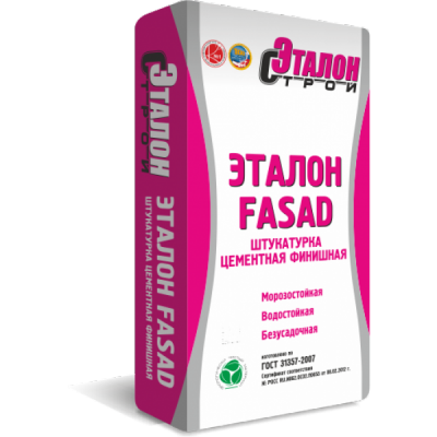 "Штукатурка фасадная ""ЭТАЛОН FASAD""(25 кг)"