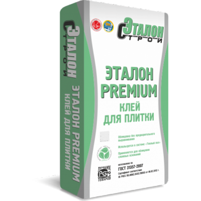 """Клей плиточный """"Эталон-Premium""""(25кг)"""