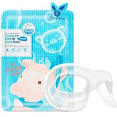 Elizavecca Milky Piggy Патчи для области вокруг глаз Goggles Eye Lock In Aqua Mask 10мл
