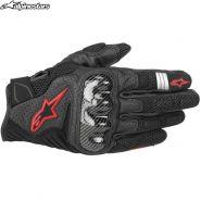 Мотоперчатки Alpinestars SMX 1 Air V2, Черно-красные