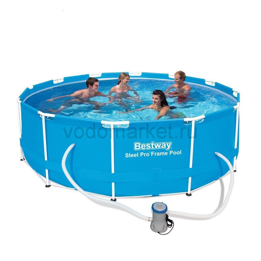 366х100см (56260) Bestway каркасный бассейн