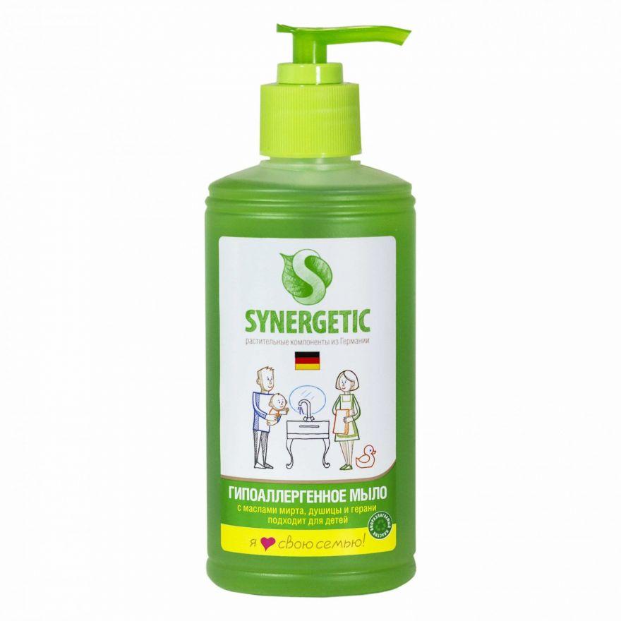 Жидкое мыло для рук с дозатором Synergetic (Синергетик) 250 мл