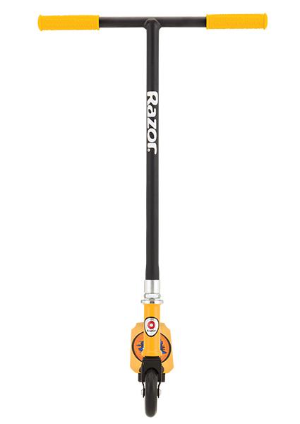 Трюковой самокат Razor Grom чёрно-желтый недорого
