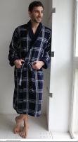 Классический мужской халат Cotton Lux 5, Five Wien