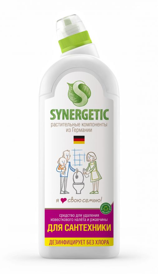 Средство для сантехники Synergetic (Синергетик)  1000 мл