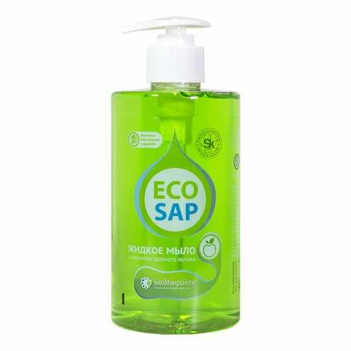 Жидкое мыло яблоко с дозатором EcoSap (ЭкоСап) 460 мл