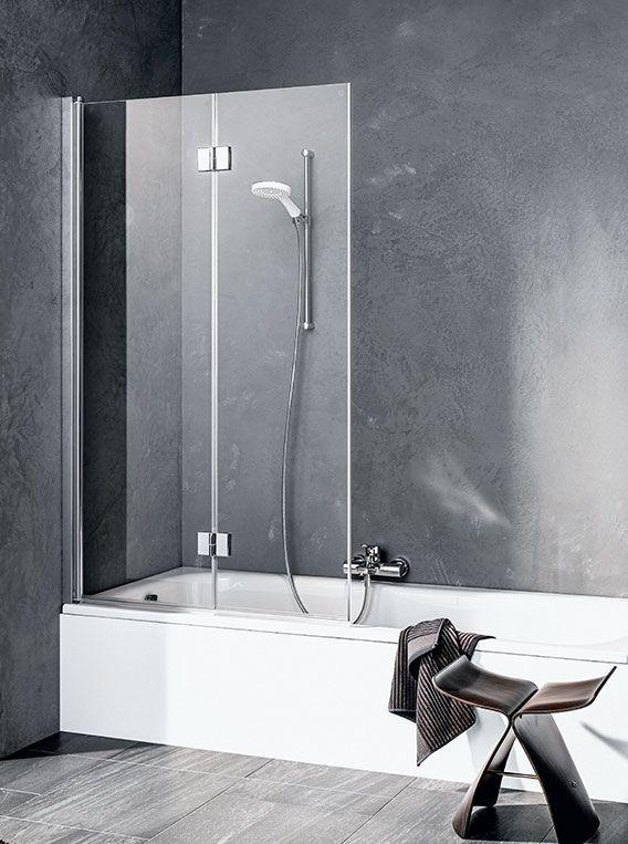 Шторка для ванной Kermi Liga LI 2PR/L ФОТО