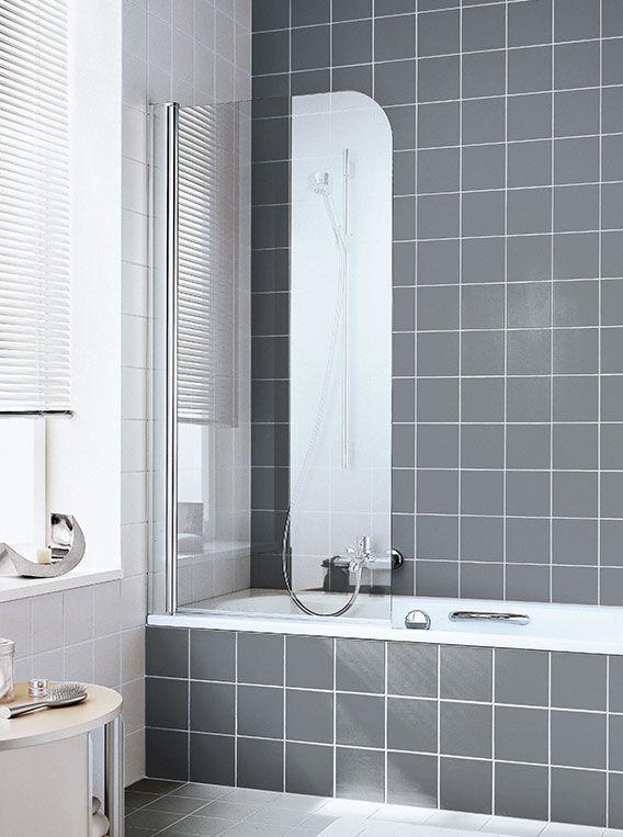 Шторка для ванной Kermi Atea AT DFR/L ФОТО