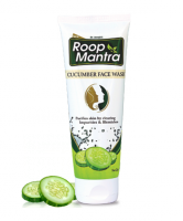 Руп Мантра гуль для умывания Огурец Дивиса  Roop Mantra Herbal Cucumber Face Wash