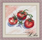 "Cross stitch pattern ""Tomatoes""."