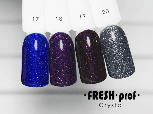 Гель-лак Fresh Prof Crystal №17