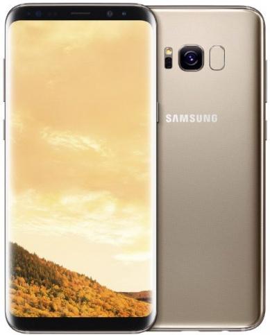 Samsung Galaxy S8+ (желтый топаз)