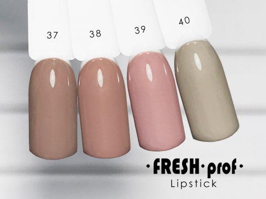Гель-лак Fresh Prof Lip Stick № 38
