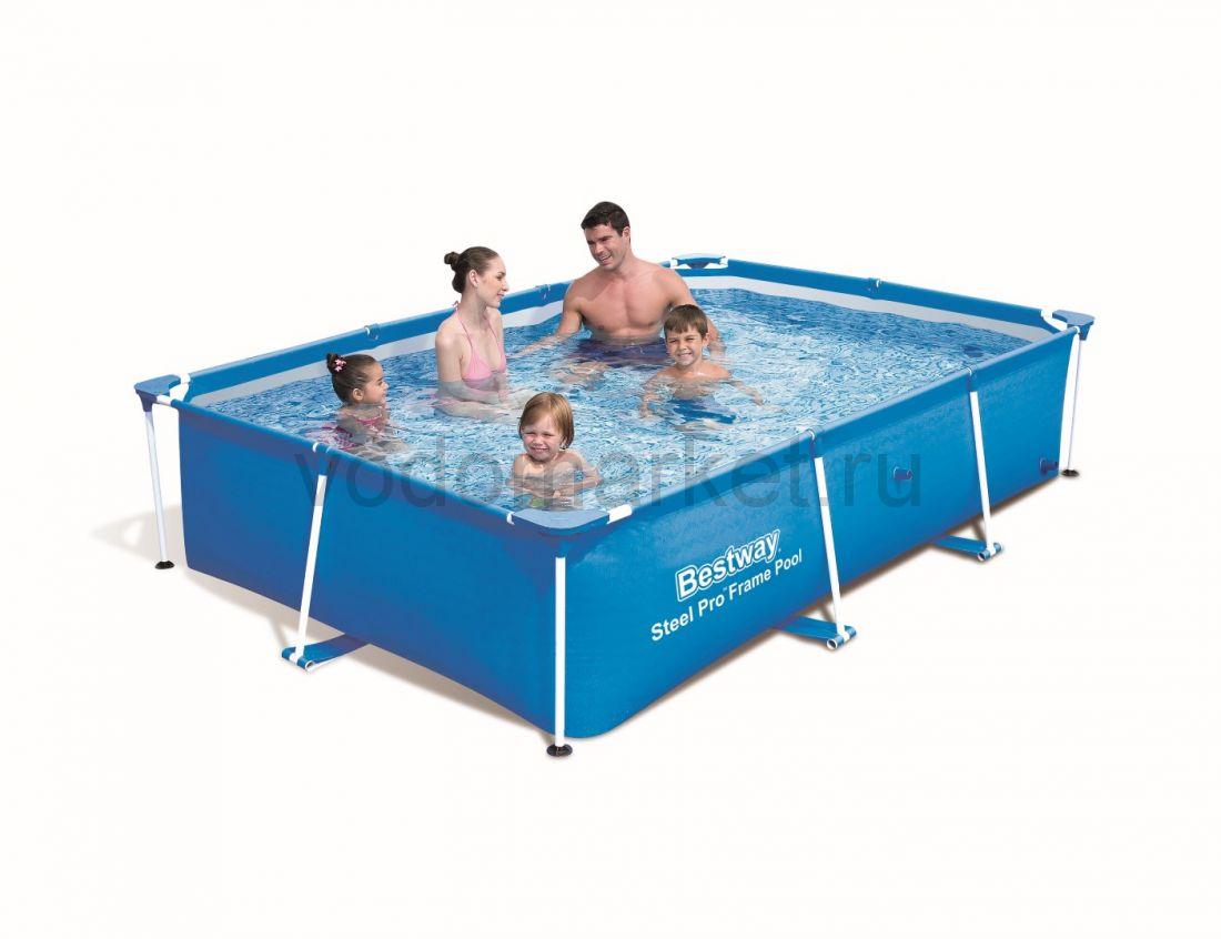 259х170х61см (56403) Bestway каркасный бассейн