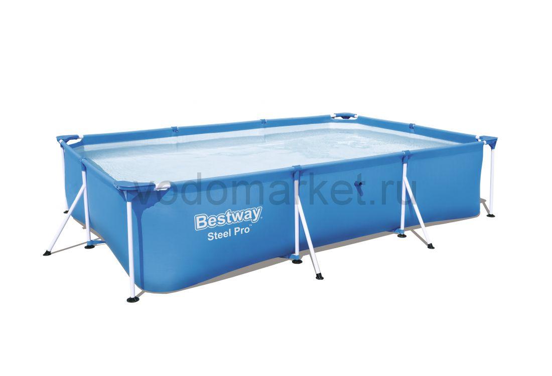 300х201х66см (56404) Bestway каркасный бассейн