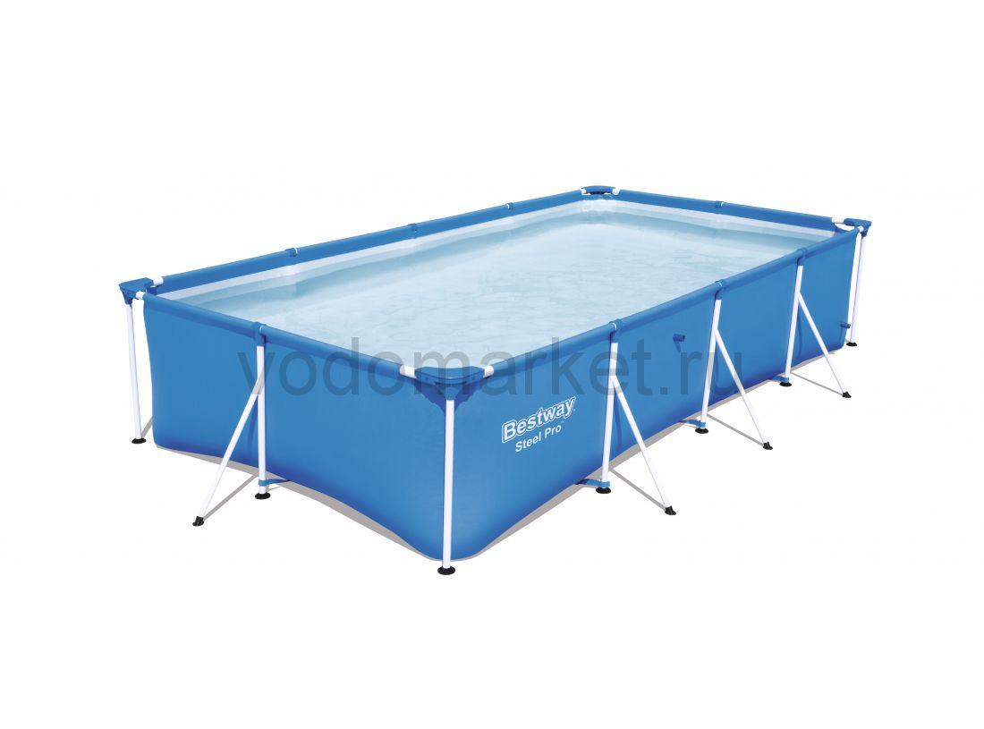 400х211х81см (56405) Bestway каркасный бассейн
