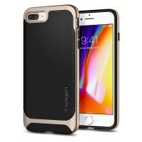 Купить чехол Spigen Neo Hybrid Herringbone для iPhone 8 Plus золотой