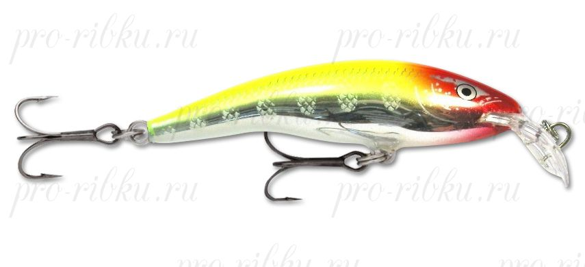 ВОБЛЕР RAPALA SHALLOW TAIL DANCER STD07 цв. CLF
