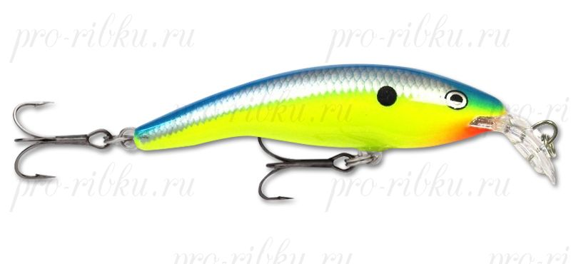 ВОБЛЕР RAPALA SHALLOW TAIL DANCER STD07 цв. PRT