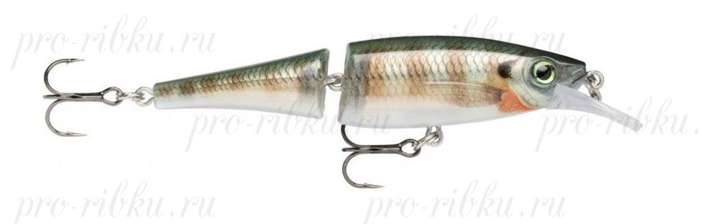ВОБЛЕР RAPALA BX JOINTED MINNOW BXJM09 цв. BG