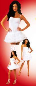 Платье белое с юбкой