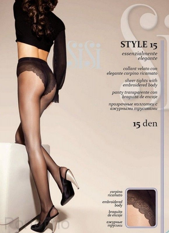 Style 15 женские колготки Sisi