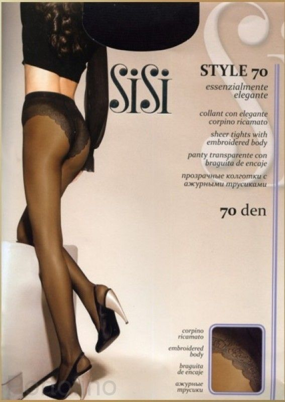 Style 70 женские колготки Sisi