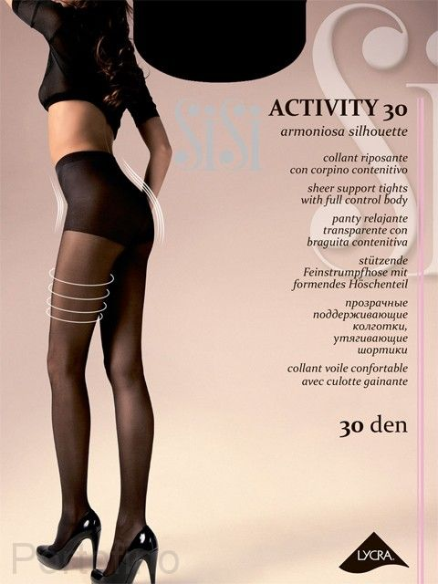 Activity 30 женские колготки Sisi