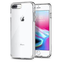 Чехол Spigen Ultra Hybrid 2 для iPhone 8 Plus кристально-прозрачный