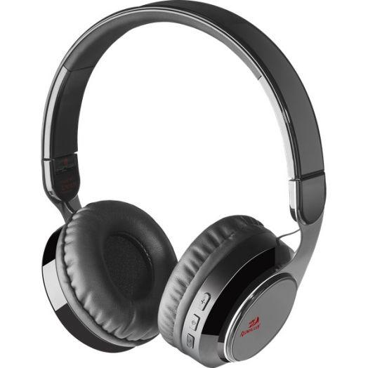 Мониторные наушники беспроводные Redragon Sky Bluetooth черные