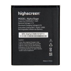 Аккумулятор для телефона Highscreen Alpha Rage 2000mAh