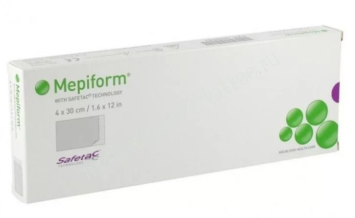 Мепиформ (Mepiform) 4 x 30см цена за 1 пластырь