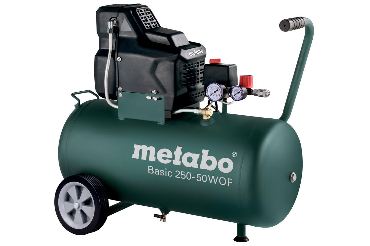 Компрессор поршневой безмасляный Metabo Basic 250-50 W OF (601535000)
