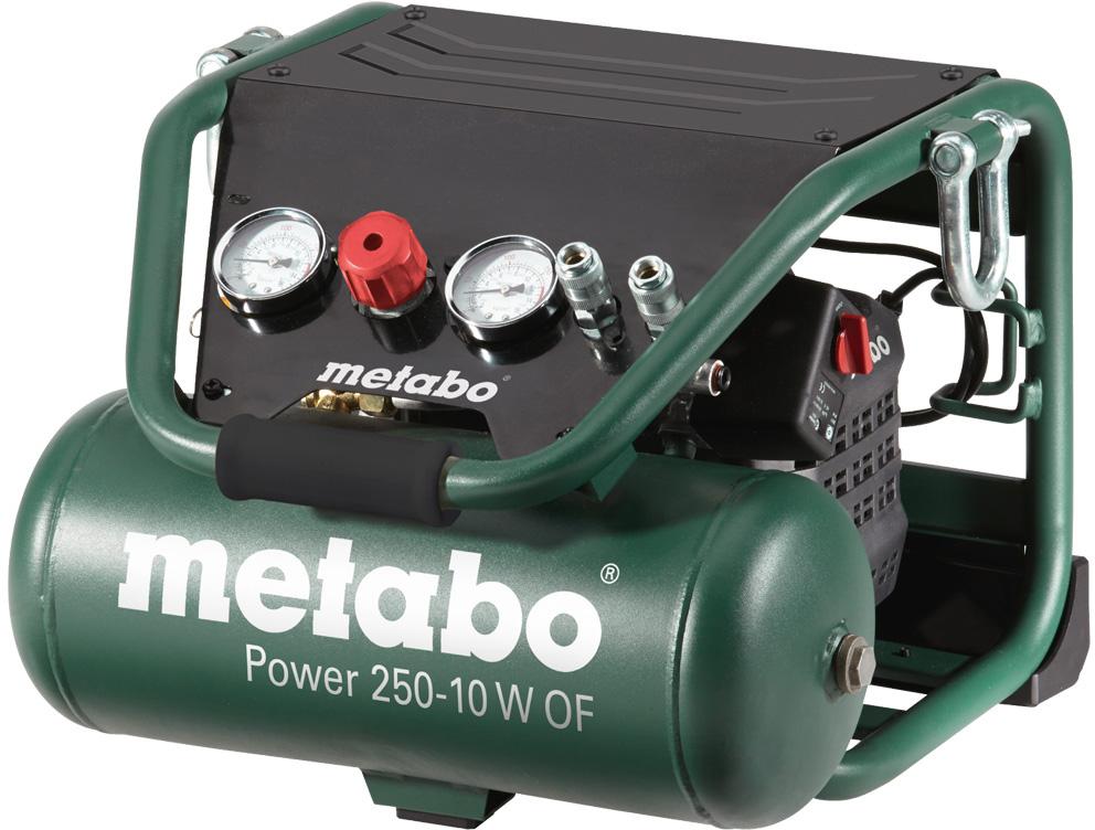 Компрессор поршневой безмасляный Metabo Power 250-10 W OF (601544000)
