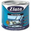 Лак Яхтный Zlata 10кг Матовый Алкидно-Уретановый