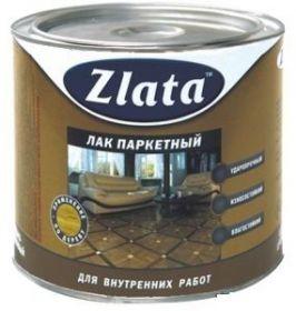 Лак Паркетный Zlata 1.9кг Глянцевый Алкидно-Уретановый