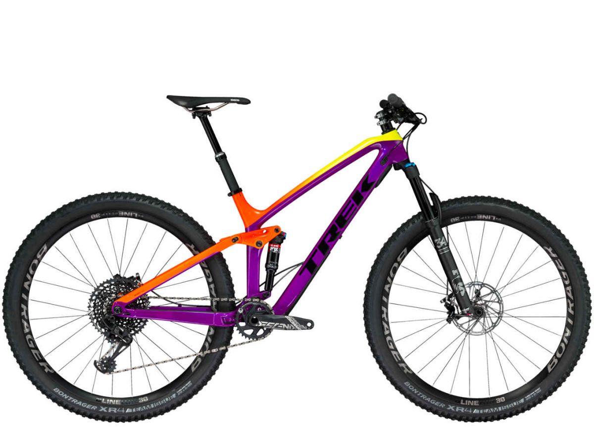 Trek Fuel EX 9.8 29 2018 purple/orange