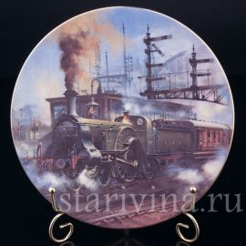 Паровоз Стерлинга, Caverswall, Англия, 1981 г.