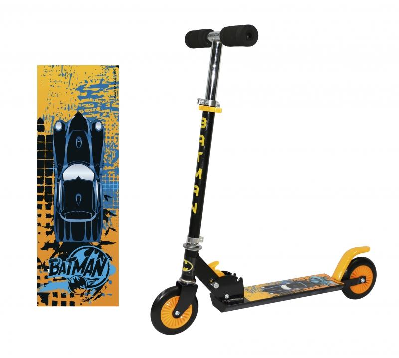 Самокат  двухколёсный Navigator Batman купить