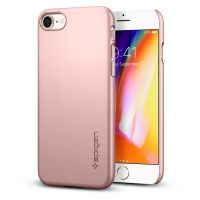 Чехол Spigen Thin Fit для iPhone 8 розовое золото