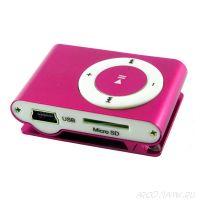 Мини MP3 плеер с клипсой