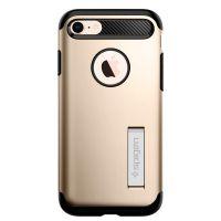 Чехол Spigen Slim Armor для iPhone 8 золотой