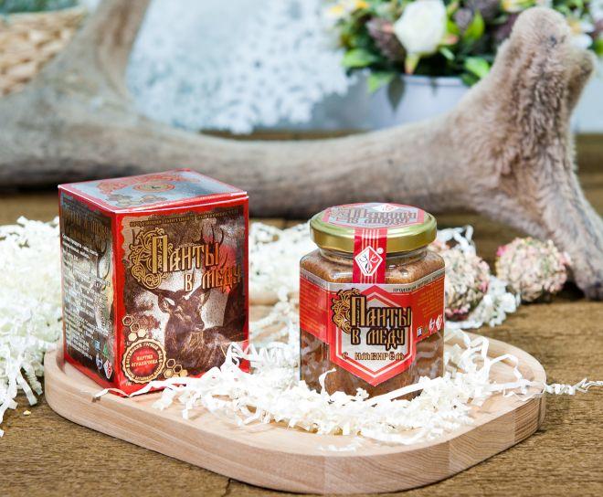 Панты в меду с имбирём (230 гр.)