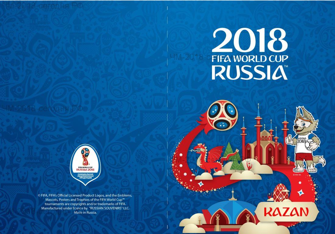 Обложка для паспорта Казань