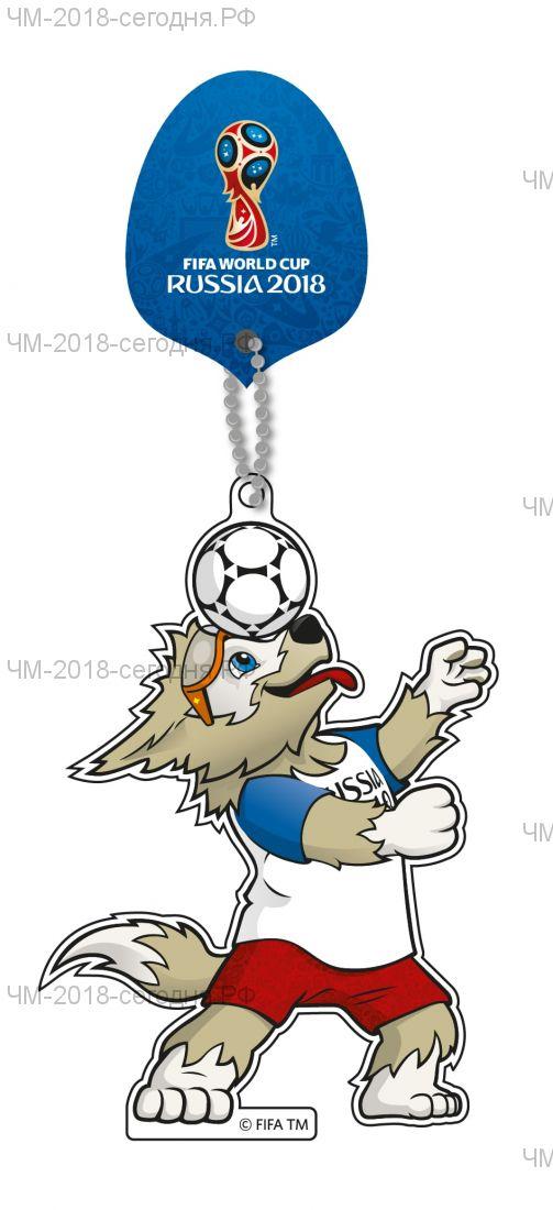 Сувенир-подвеска на присоске Забивака мяч на голове