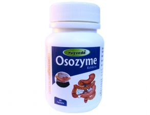 OSOZYME Yugveda,60 таб,гастрит, язва двенадцатиперстной и желудка.