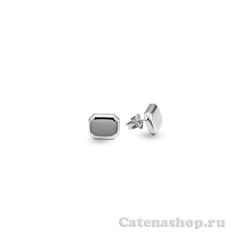 Серьги серебряные