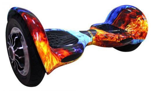 Гироскутер Smart Balance 10 APP Самобаланс Разноцветный огонь